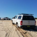 Beach driving with PDA