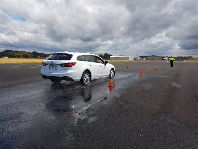 Am I insured to use my own car for Defensive Driver Training?