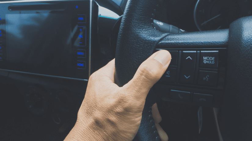 Where to put your hands on the steering wheel